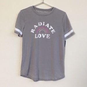 Radiate Love Retro Vibe T-Shirt Sz S NWT